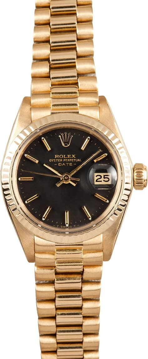 pre owned rolex president 6917 bob s used