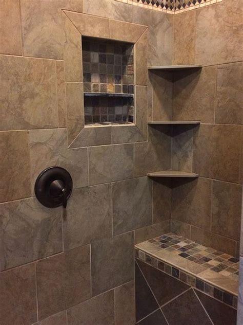 bathroom showers tile ideas meer dan 1000 idee 235 n over master shower tile op pinterest