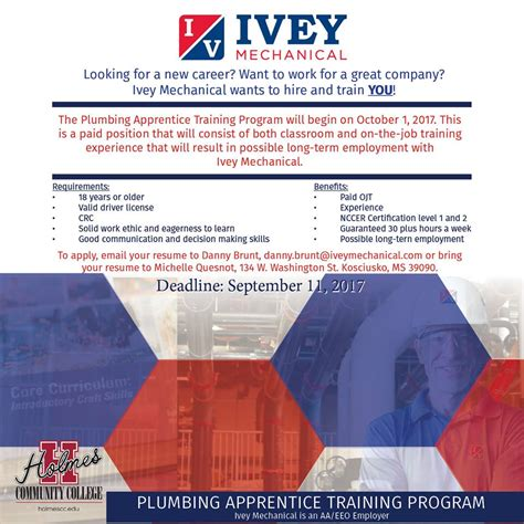 Introduction To Plumbing Cc Ivey Mechanical To Offer Paid Introduction To