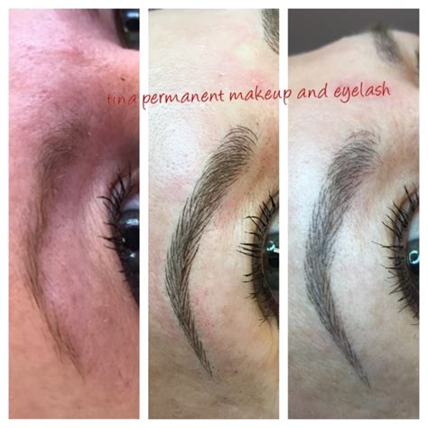 eyebrow tattoo houston tina permanent makeup eyelash microblading eyebrows