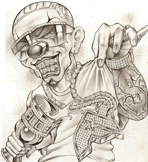 mexican gangster tattoo designs mexican gangster drawing at getdrawings free for