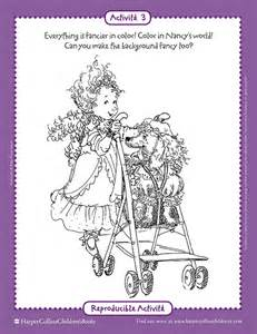 fancy nancy coloring pages luxury fancy nancy coloring pages 29 about remodel gallery