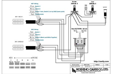 hsh wiring diagram 2 volume 1 tone 5 way get free image