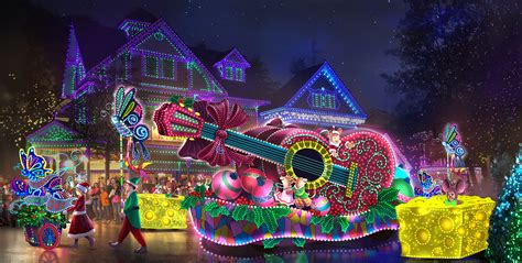 dollywood lights 2017 dollywood announces 2 5 million parade of many colors
