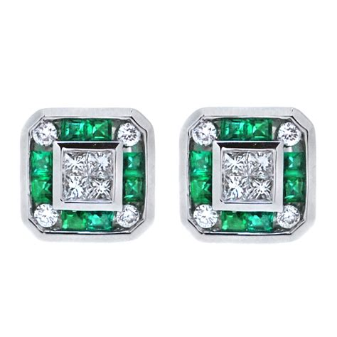 emerald and earrings from heming jewellers
