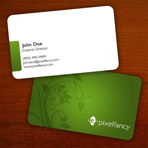 daniel business card template a simple floral business card template design by daniel beehn