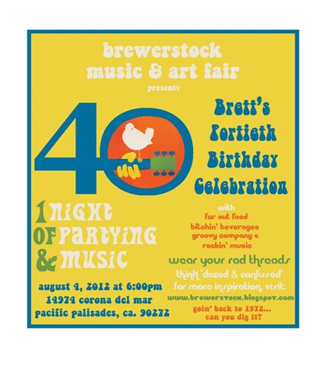 birthday invitation wording no gifts brewerstock 2012