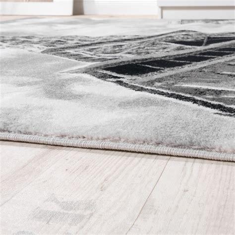 motiv teppiche designer teppich eiffelturm motiv grau design teppiche