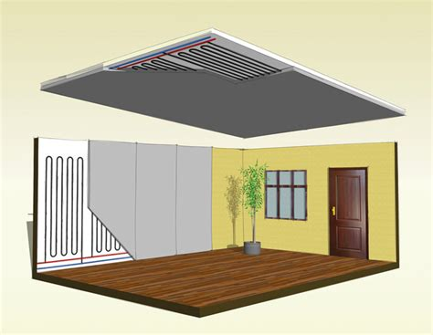 impianto riscaldamento a soffitto impianti per il riscaldamento idealclimasas it