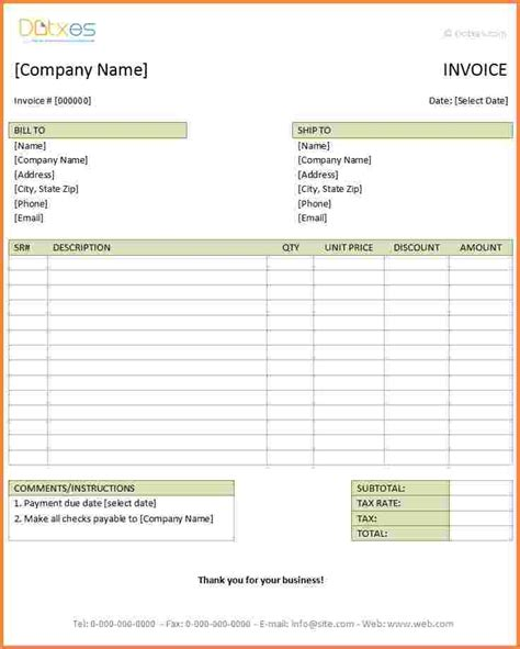 Hotel Receipt Template Excel by 3 Hotel Invoice Template Excel Invoice Template Docs