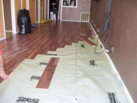 laminate flooring installation laminate flooring underlayment