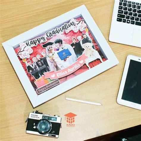 Balon Graduation Wisuda Putih jual murah scrapframe graduation k pop kado wisudaku