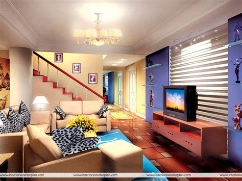 designing room interior exterior plan living room with magnificent design