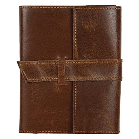 handmade leather journal notebook refillable diary gifts