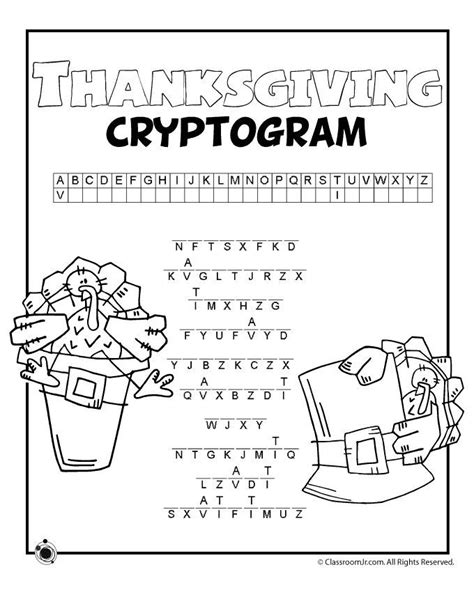 printable quiptoquip puzzles free printable thanksgiving cryptogram great for older