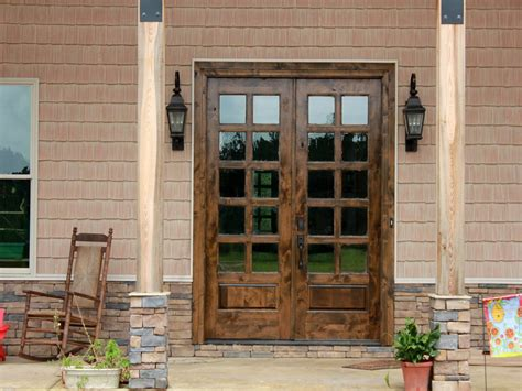 Double French Doors Exterior Residential Security Design Security Exterior Door