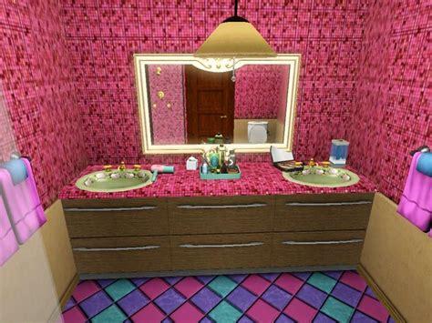 piastrelle viola piastrelle mosaico in bagno foto design mag