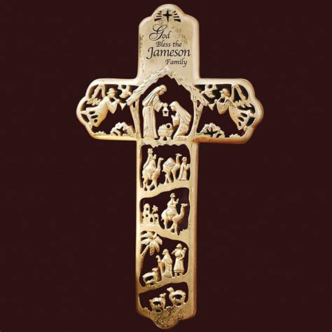 personalized religious crosses cross necklaces at