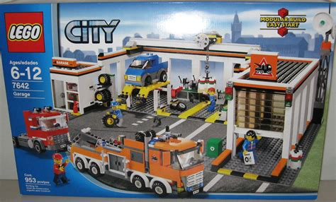 lego city town 7642 city garage new sealed 5055318506930