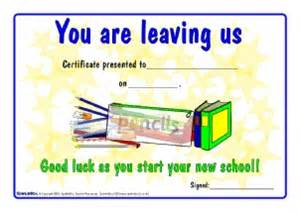 Leaving Certificate Template by Printable School End Of Year Leavers Certificates For
