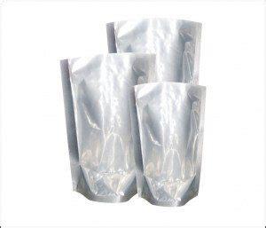 Standing Pouch Zipper Plastik Pp Klip 20x29 kemasan ukm murah desain printing dan pelatihan