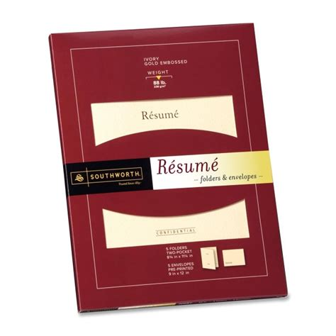 Resume Folders by Quickship