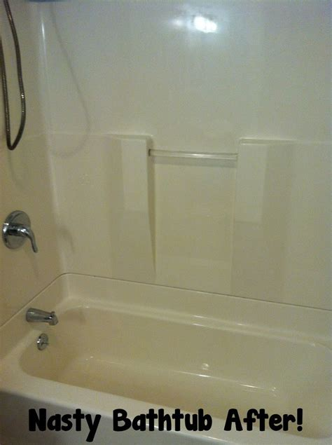 how to clean a stained bathtub 77 best images about cleaning organizing on pinterest