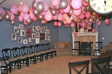 hanging from the ceiling hanging from the ceiling pink ribbon breakfast decor