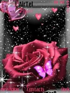 love themes s60v3 download rose animated love themes for mobile