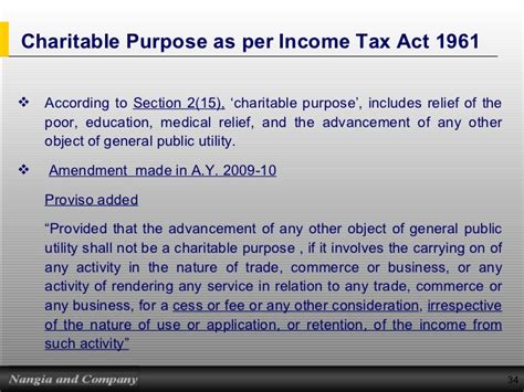section 34 of income tax act outside cp knowledge presentation 4 presentation on