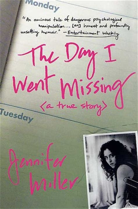 semicolon while living a true story books the day i went missing by miller