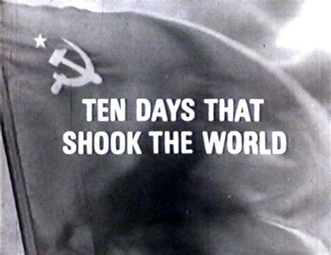 libro diez dias que conmovieron diez d 237 as que estremecieron al mundo tv 1967 filmaffinity