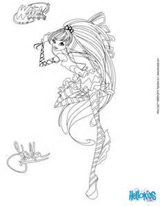 stella transformation sirenix coloring pages hellokids
