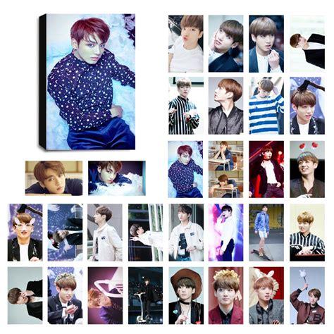 Photo Card Member Bts bts jungkook ver 3 lomo photocard set kpop mall usa