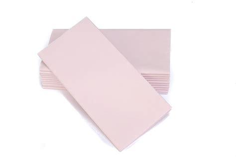 light pink paper dinner napkins 16 quot x16 quot simulinen signature color collection light pink
