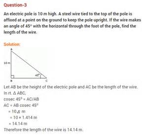 worksheet for class 10 maths trigonometry some