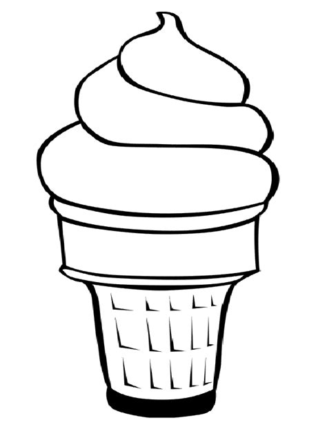 ice cream sandwich coloring page ice cream cup coloring page ice cream pinterest