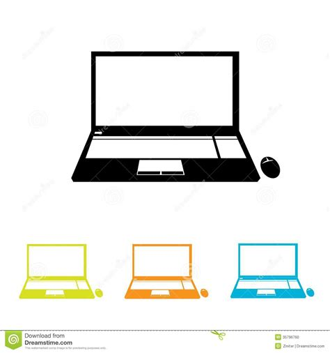 format eps vector vector notebook icon set stock vector illustration of