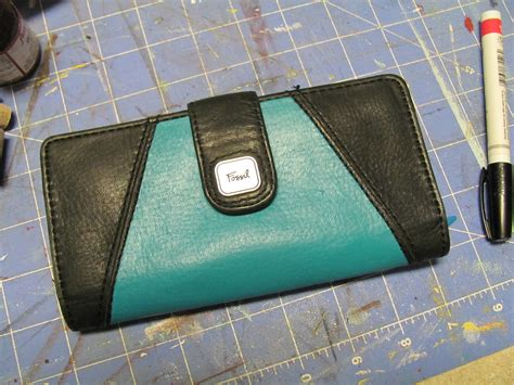 angelus paint turquoise painted purse tutorial from victory road