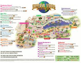 map of universal florida the thrills universal studios florida