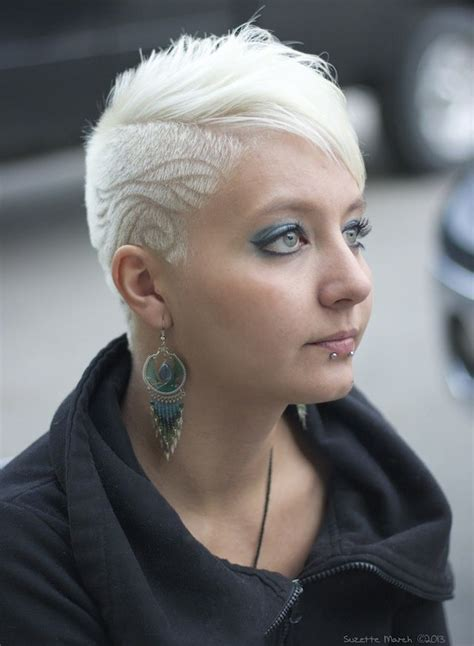 1000 images about coloured shaved and awesome hair on 1000 images about frisuren on pinterest shaved side