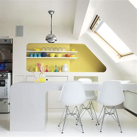 kitchen feature wall ideas kitchen with bold yellow feature wall colouful kitchen