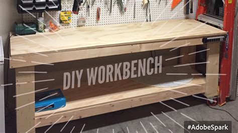 tool benches garage diy wood workbench how to build a wood tool workbench