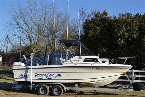 angler 204 boat 1995 angler 204 wa cuddy sold the hull truth boating
