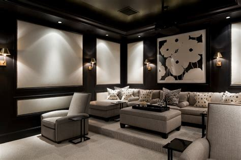 home theater interiors coral gables florida home traditional home theater