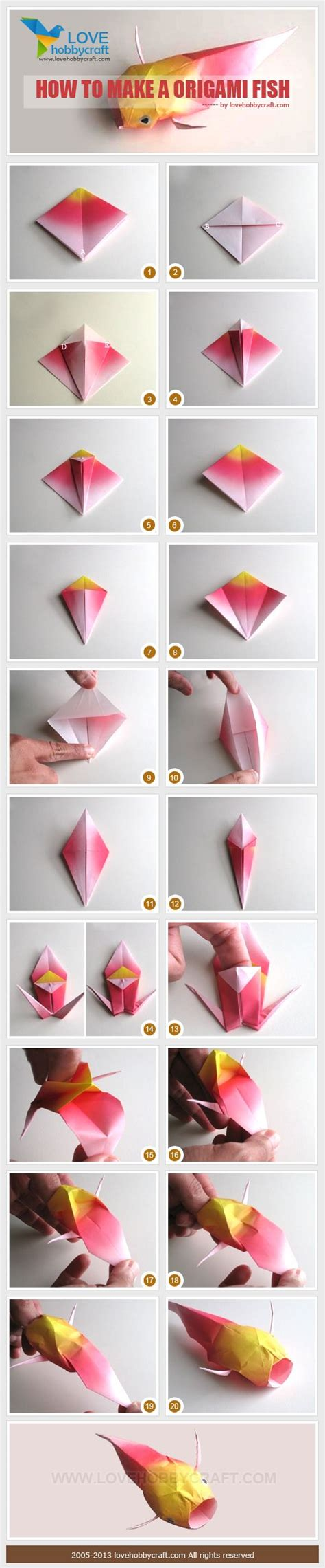 How To Make Origami Koi Fish - the 25 best ideas about origami fish on