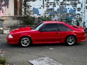 1992 FORD MUSTANG GT FOX BODY