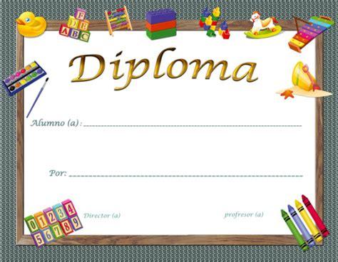 imagenes escolares de fin de año diplomas escolares infantiles para ni 241 os para imprimir y