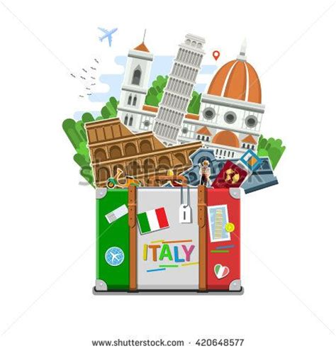italy tourism clipart   cliparts  images
