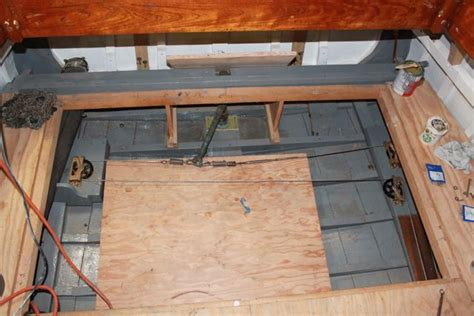 on a boat pulleys are used to raise and lower restoring a 1929 stephens cruiser page 6